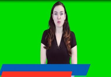 Make Accountant Spokesperson Promo Video For Local Business