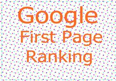 Guaranteed Top 10  Ranking Service On Google
