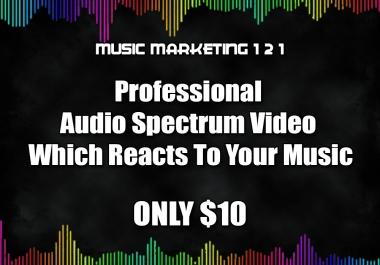Audio Spectrum Music Video