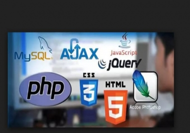 work on html,css, php,javascript,jquery desired webdesign
