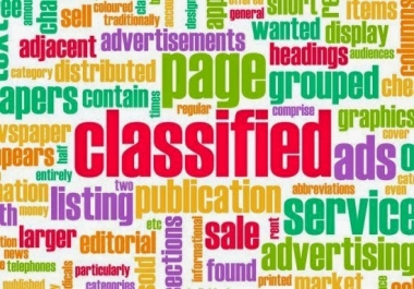 Create Post On Ads 50 Top Classified Websites