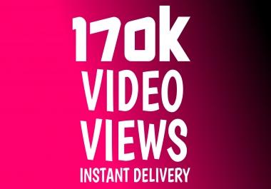 Add Super Instant 170K HQ Video Views