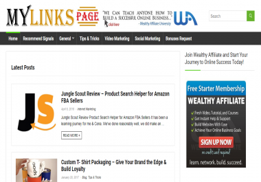 Publish a guest post on Mylinkspage.com