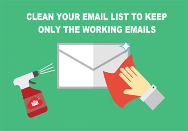 Email List- Will Clean Your Email List