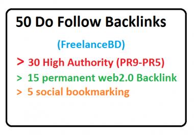 30 PR9-PR5,15 Web2.0 And 5 Social bookmarking backlinks