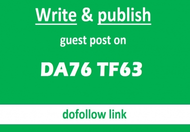 Publish A Guest Post On High DA76 TF63 Travel Website - DOFOLLOW BACKLINK
