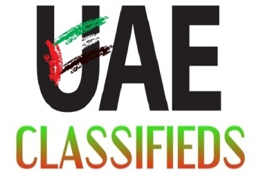 Manually Post 10 High Page Rank UAE Classifieds For Your Business