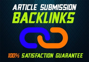 Do 200 Article Submission & Posting With Dofollow Seo Backlinks