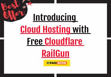 Cloud Hosting for just 5$