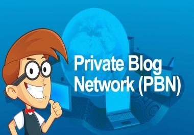 Build 10 High PR PA DA TF CF 40+ to 15, PBN Backlinks and 500 2nd Tire Contextual backlinks