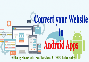 Convert your Website to Android Apps with your own Admob ad