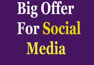 Buy 1000+ All Social Media Likes Or Followers only for profile, pag and post