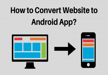 Create an Android App from your website