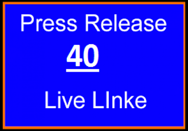 Publish Your Written Press Release To Top 40 PR Distribution Networks