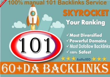 Safe SEO 100 Manual PR9 DA 60+ Backlinks Increase your Google Ranking Best Result 2018