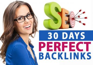 build perfect seo strategy backlinks