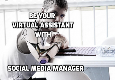 Be your virtual assistant / social media manager for 1 hr for $5
