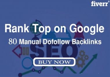 I provide you 80 powerfull seo blog comments manual work dofollow backlinks