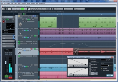 Music Production,Mix & Master,edit vocals,add autotune,add Effects,mix a vocal to a bea....