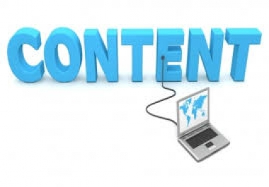 Website content - get your site started with well written, SEO friendly content!