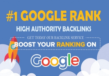 Boost your rank on Google with 120+  clickable Backlinks and 1500 social signal and share combo Boosting package.