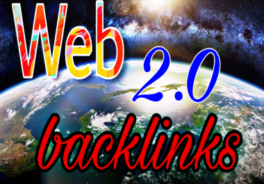 Submission your website with 25 high quality web2.0 backlinks