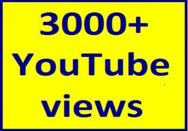 1000-1800 High Quality Youtube views non guaranteed refill guaranteed