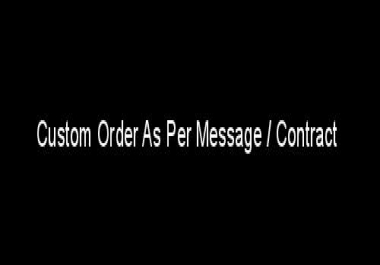 Custom Traffic Offer