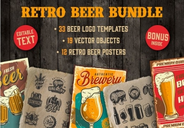 give you Retro Beer Bundle