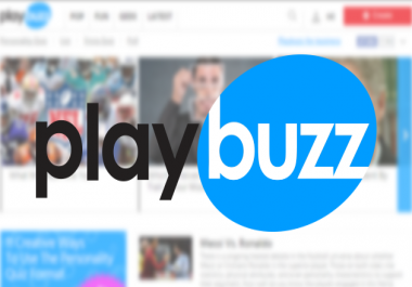 Place A post On Playbuzz.com