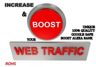 I Will Drive Verified Google Friendly Web Traffic
