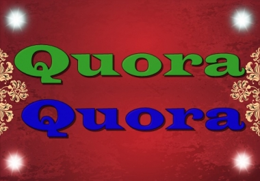 Increase your website traffic 50 Quora answers  with backlinks