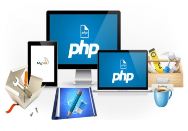 develop php,html website using bootstrap