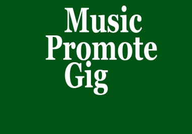 Buy Music Promotion service 1000+ Album Artist Hit Active Listeners Only For Music Track