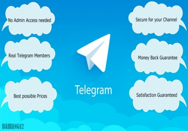 Add 300 Telegram Members to Channels