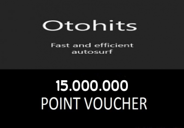 Sell Cheap Oto-Hits Point 15M