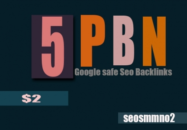 Manually 5 Top SEO PBN Backlinks to Website improving