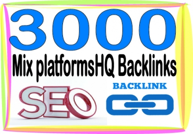 Boost your Site Alexa Rank with 3000 Mix platforms Backlinks