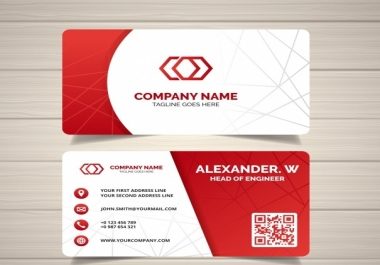 Design Professional Business Card Two Side