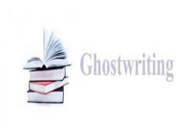 I am your professional ghostwriter in English for You
