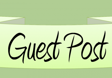 Write and Publish guest post on 10 High authority blogs with dofollow links