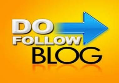 120 High DA PA Manually Dofollow Manual Blog Comments backlink