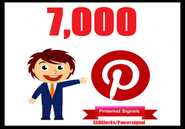 Bumper offer 7,000+ Pinterest USA Social Signals Life Time Benefit To Skyrocket Your Website SEO Traffic & Shares Bookmarking & Affiliate Marketing & Business Promotion Google Ranking