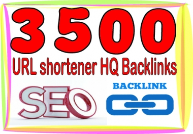 Create 3000 URL shortener High PR Metrics Backlinks