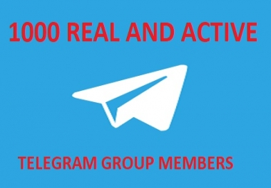1st REAL AND ACTIVE TELEGRAM GROUP MEMBERS