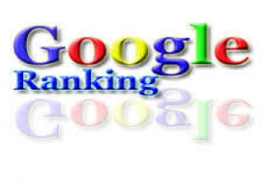 Google 1st page Rank Service For 1 keyword your site