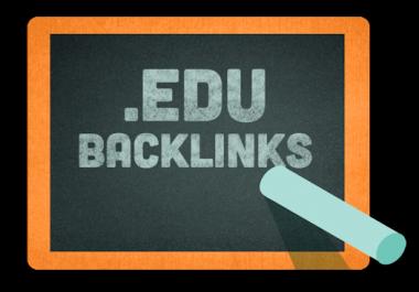High Quality 600 EDU Backlink
