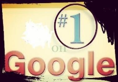 Manually 30+ High PR Google Killer Backlink to rank your website