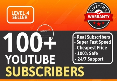 Get 100+ Real YouTube Subscribers With Lifetime Guarantee NON DROP