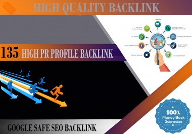 Exclusive Offer 135+ DOFOLLOW High PR1-PR9 or DA 35+ Highly Authorized Google Dominating BackLinks